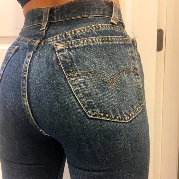 1c70e610 Levi's Jeans | Levis Tiny Vintage High Rise 501 Style 2324 | Poshmark